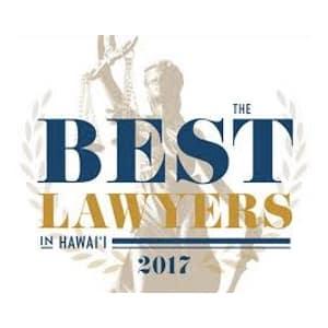Best Lawyers in Hawaii 2017 Steven Iwamura