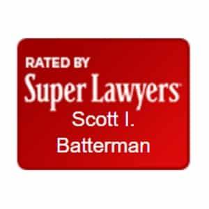 Scott Batterman Superlawyers Rated